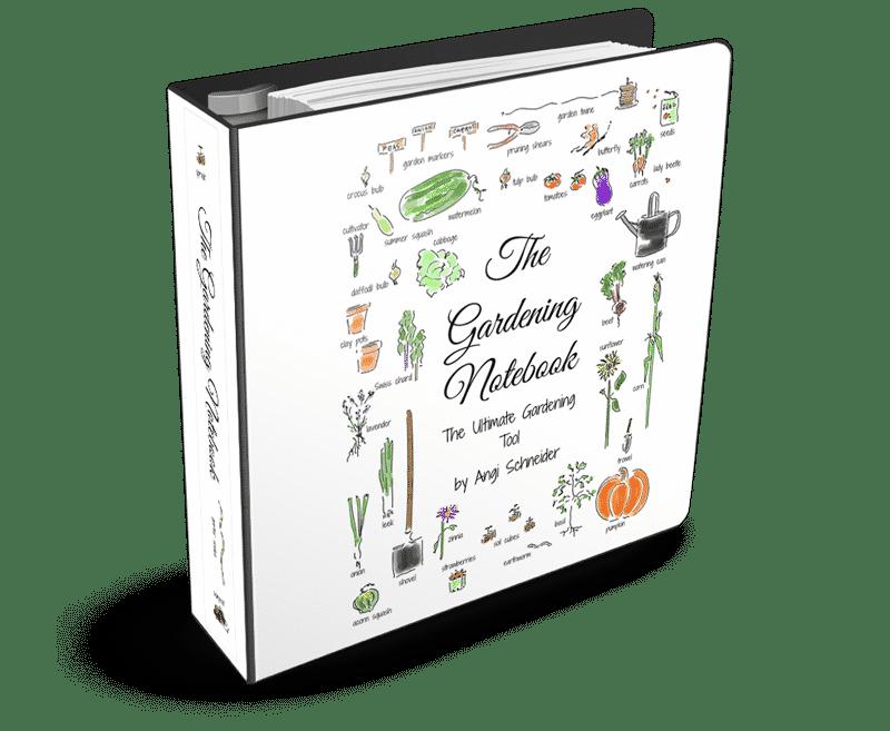 The Gardening Notebook printable journal